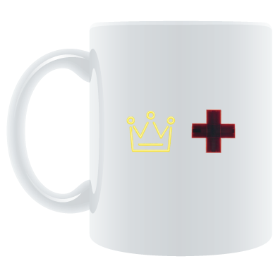 The Duke and The Doctor Logo Mug