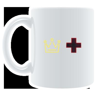 The Duke and The Doctor Logo Mug