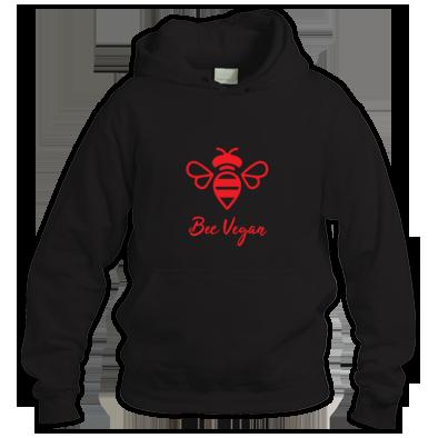 Unisex 'Bee Vegan' Hoodie