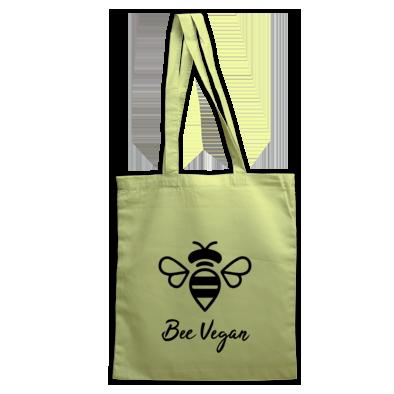 'Bee Vegan' Tote Bag