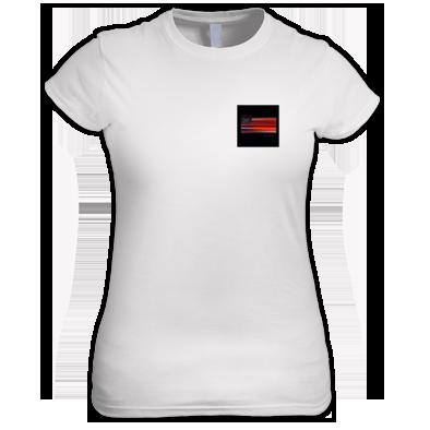 T-Shirt Female w/ America Cover