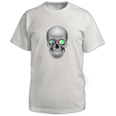 TV Skull Logo Unisex T-Shirt - 3-D Deluxe Version
