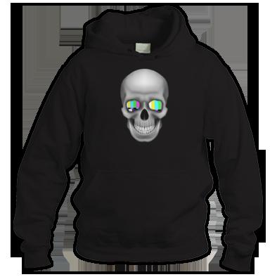 TV Skull Logo Unisex Hoodie - 3-D Deluxe Version