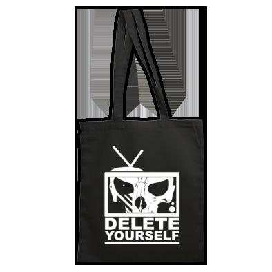 Delete Yourself Tote Bag