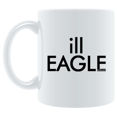 Mug ill EAGLE black
