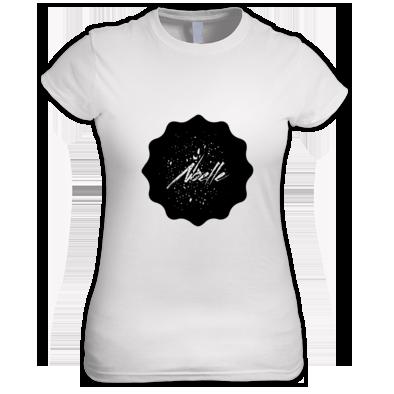 Women's Noelle Black Logo T-Shirt