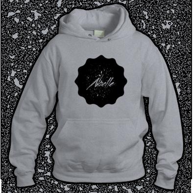 Noelle Black Logo Hoodie