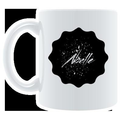 Noelle Black Logo Mug