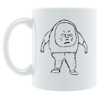 AREKAYIC Illustration Mug (Reprint)