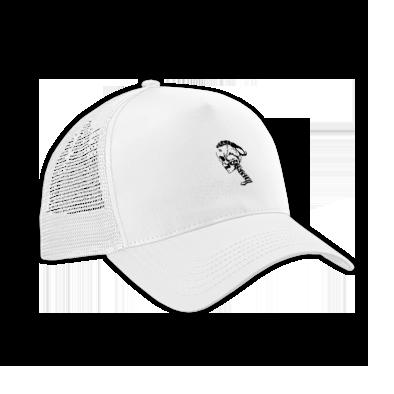SKULL LOGO SPORTS CAP