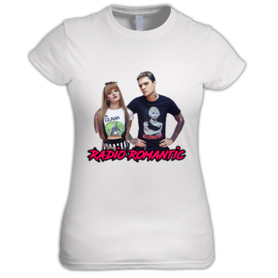 Radio Romantic Joe and Ruth - Ladies T Shirt