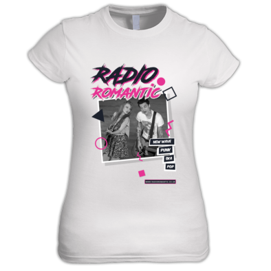 Radio Romantic Poster -  Ladies T Shirt