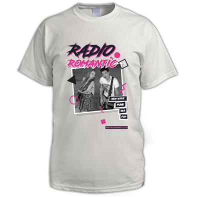 Radio Romantic Poster -  Mens T Shirt
