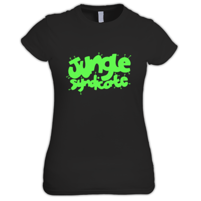 Girly Jungle Syndicate Alien Logo