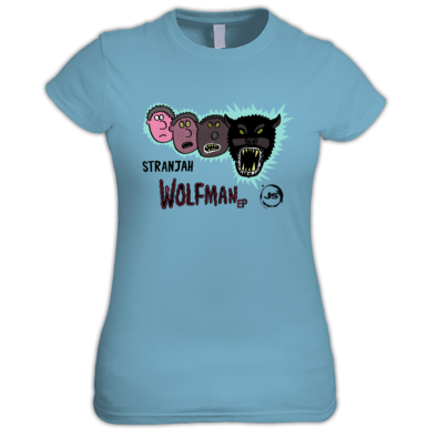 JSD014 : Stranjah - Wolfman EP Artwork Logos
