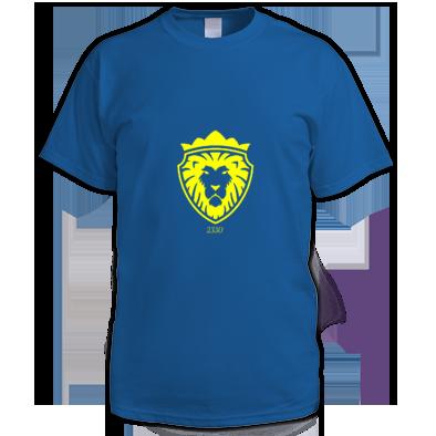 Yellow on Royal blue