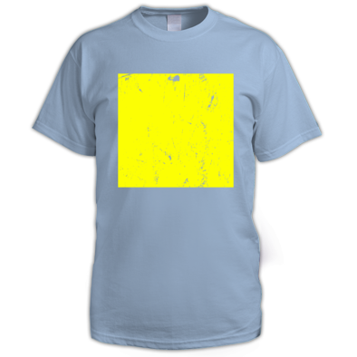 Yellow on Light blue