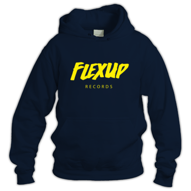 Flex Up Records Hoodies Yellow