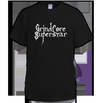 GrindCore Superstar T-shirt White Logo