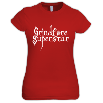 GrindCore Superstar Women's T-shirt White Logo