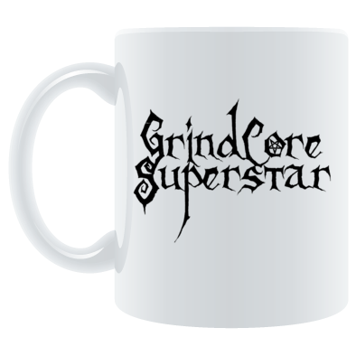 GrindCore Superstar Mug Black Logo
