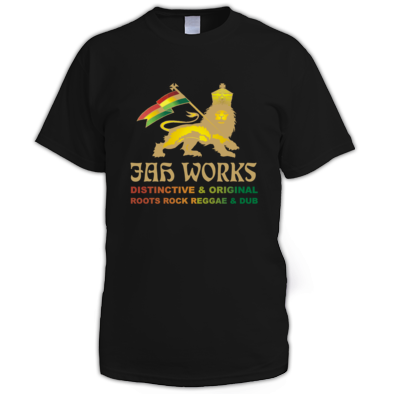 Jah Works Gold Logo Mens