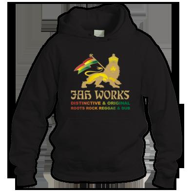 Jah Works Gold Logo Hoodie