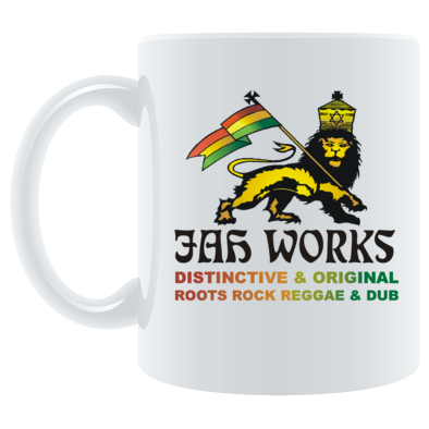 Jah Works Black logo Coffee Mug