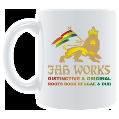 Jah Works Gold logo Coffee Mug