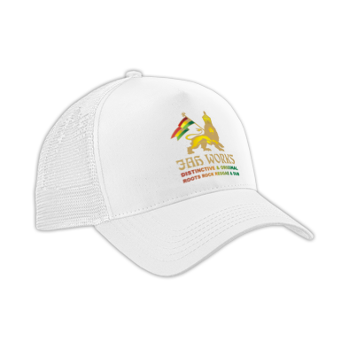Jah Works Gold logo Cap