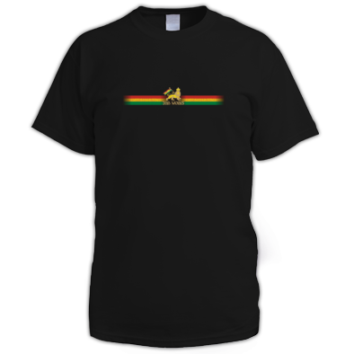 Ribbon Logo Mens T shirt