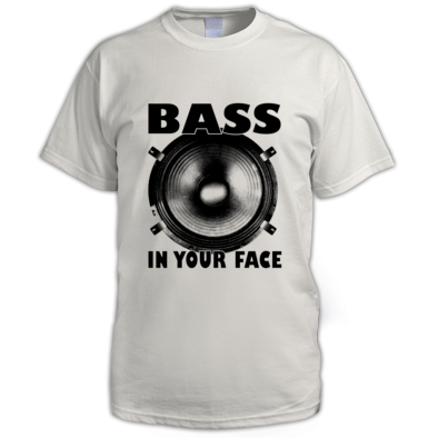 Bass in your face Mans T Shirt