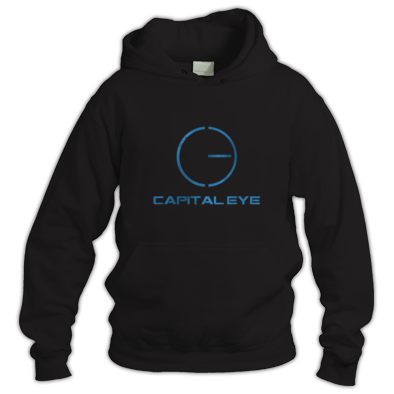 Central logo hoodie