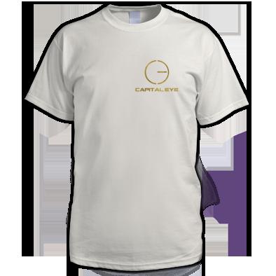 Gold logo mens tshirt