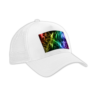 Colourfull bacround cap