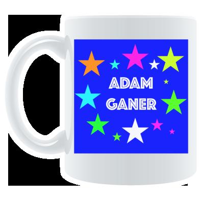 bright colors coffee mug