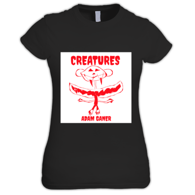 creatures women's tee shirt
