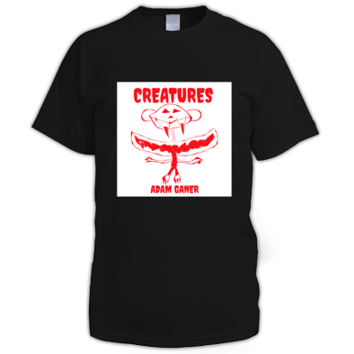 creatures men's tee shirt