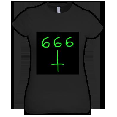 d3vil muzik women's tee shirt