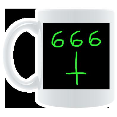d3vil muzik coffee mug