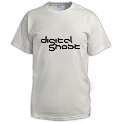 Men's Digital Ghost Logo T-Shirt