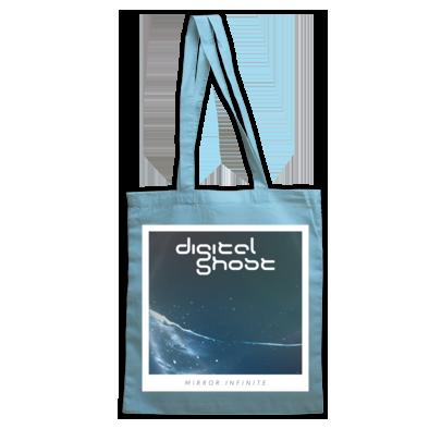 Digital Ghost Mirror Infinite Cover Tote Bag