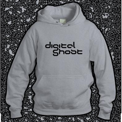Digital Ghost Logo Hoodie
