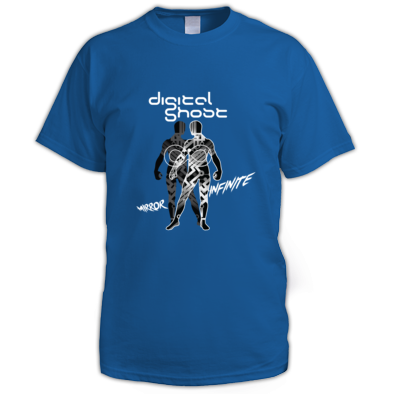 Men's Mirror Infinite (White) T-Shirt