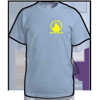 Yellow on Light blue