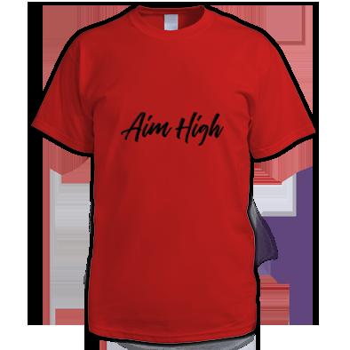 Aim High logo Tee