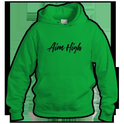 Aim High Logo Hoodie
