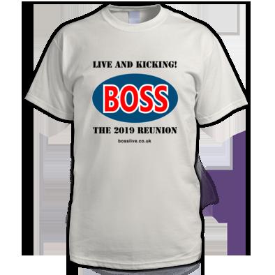 Men's T-shirt, Boss logo black text