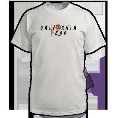 California Zoo Black Logo Men's Tee