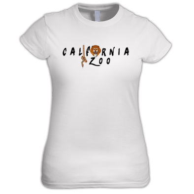 California Zoo Black Logo Women's Tee